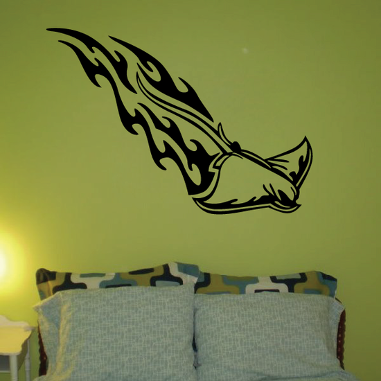 Blazing Trail Stingray Decal