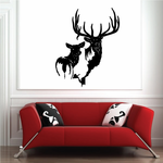 Great Elk and Mate Decal