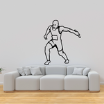 Track and Field Wall Decal - Vinyl Decal - Car Decal - SM012