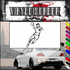 Track and Field Wall Decal - Vinyl Decal - Car Decal - SM016