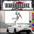 Track and Field Wall Decal - Vinyl Decal - Car Decal - SM017