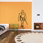 Track and Field Wall Decal - Vinyl Decal - Car Decal - SM023