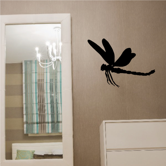 Dragonfly Gliding Decal