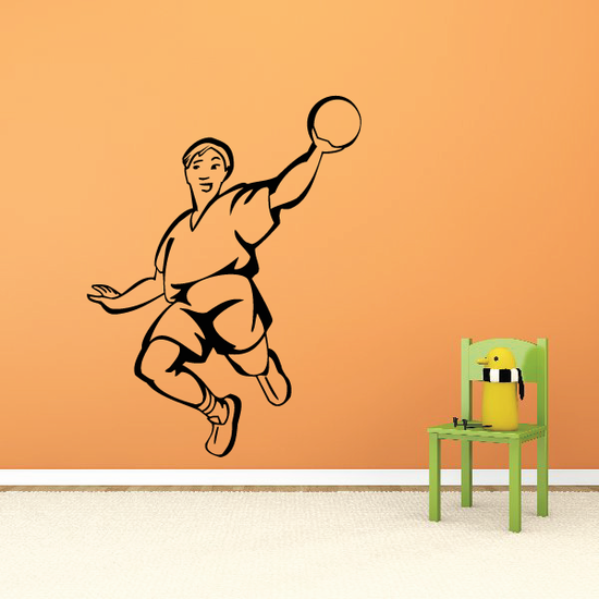Track and Field Wall Decal - Vinyl Decal - Car Decal - SM029