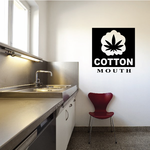 Cotton Mouth Decal