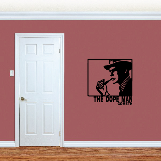 The Dope Man Cometh Decal