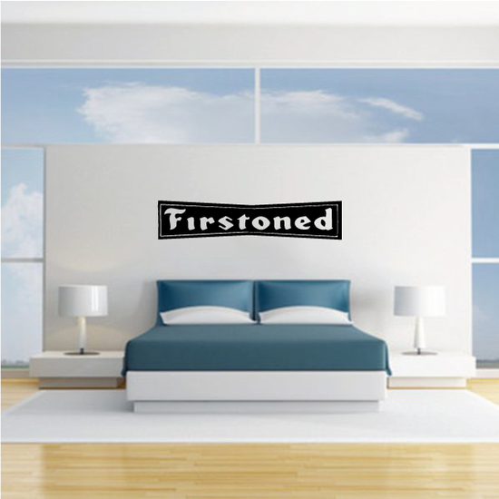 Firestoned Decal