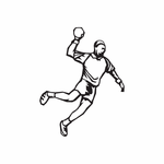 Track And Field Wall Decal - Vinyl Decal - Car Decal - DC 017