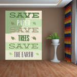 Save Paper Save Trees Save The Earth Sticker