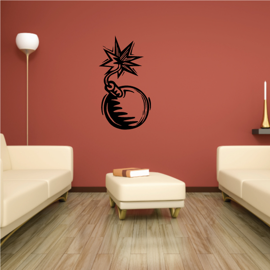 Detailed Bomb Decal