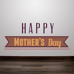 Grand Happy Mothers Decal