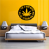 Marijuana Time is never wasted when your wasted all the time Decal