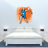 Track and Field Wall Decal - Vinyl Sticker - Car Sticker - Die Cut Sticker - SMcolor012