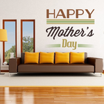 Retro Happy Mother's Day Decal
