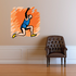 Track and Field Wall Decal - Vinyl Sticker - Car Sticker - Die Cut Sticker - SMcolor015