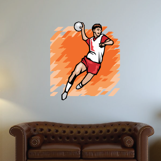 Track and Field Wall Decal - Vinyl Sticker - Car Sticker - Die Cut Sticker - SMcolor016