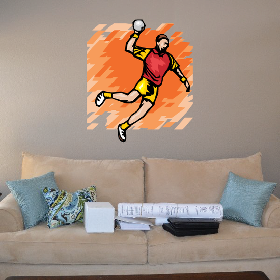 Track and Field Wall Decal - Vinyl Sticker - Car Sticker - Die Cut Sticker - SMcolor017