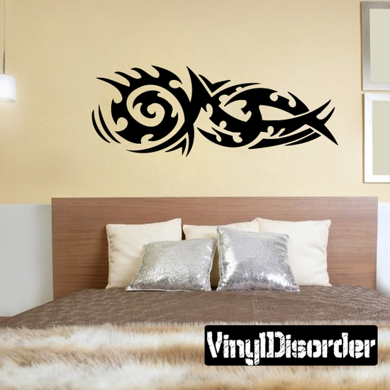 Classic Tribal Wall Decal - Vinyl Decal - Car Decal - DC 013
