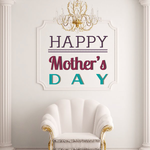 Joyful Happy Mothers Day Decal