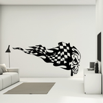 Skull Wall Decal - Vinyl Decal - Car Sticker - CD6008
