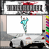 Track and Field Wall Decal - Vinyl Sticker - Car Sticker - Die Cut Sticker - SMcolor022