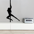 Nude Pole Dancer Spinning Decal