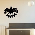 Native Style Raven Decal