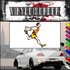 Track and Field Wall Decal - Vinyl Sticker - Car Sticker - Die Cut Sticker - SMcolor026