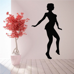 Dancer Silhouette Decal