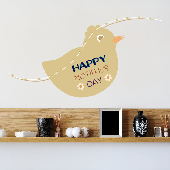 Happy Mothers Day Duck Sticker