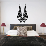 Checkered Flag Wall Decal - Vinyl Decal - Car Decal - CF08016