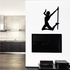 Nude Pole Dancer in Heels In the Air Decal