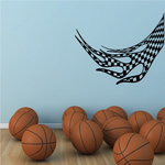 Checkered Flames Wall Decal - Vinyl Decal - Car Decal - CF23008