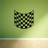 Checkered Pattern Wall Decal - Vinyl Decal - Car Decal - CF8003
