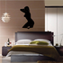 Nude Woman with Panties Silhouette Decal