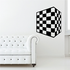 Checkered Pattern Wall Decal - Vinyl Decal - Car Decal - CF8009
