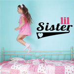 Lil Sister Wall Decal