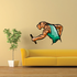 Track And Field Wall Decal - Vinyl Sticker - Car Sticker - Die Cut Sticker - CDSCOLOR014