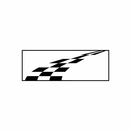 Racing Flag Flags Car Window Vinyl Decal Sticker Stickers 12