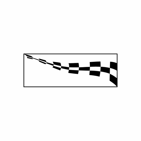 Racing Flag Flags Car Window Vinyl Decal Sticker Stickers 13