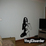 Nude Woman in Rope Decal