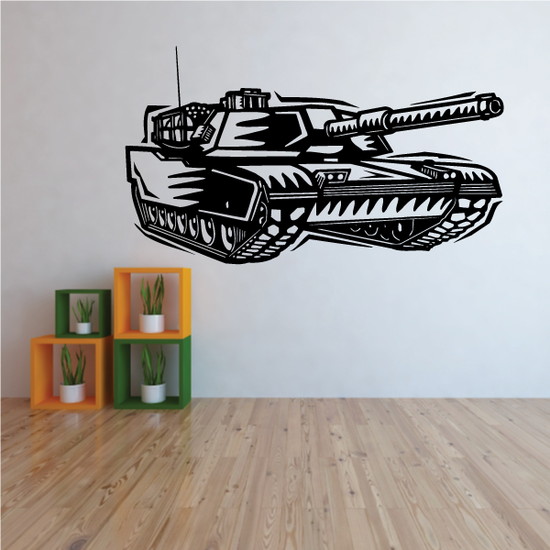 Detailed Tank Decal