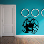 Snarling Tiger Decal