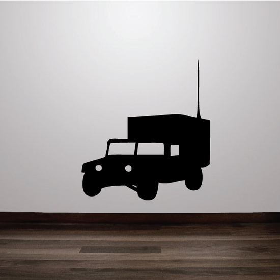 Humvee Truck Decal