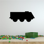 Simple Light Armored Personnel Carrier Decal