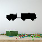 Simple Towing Armored Transport Decal