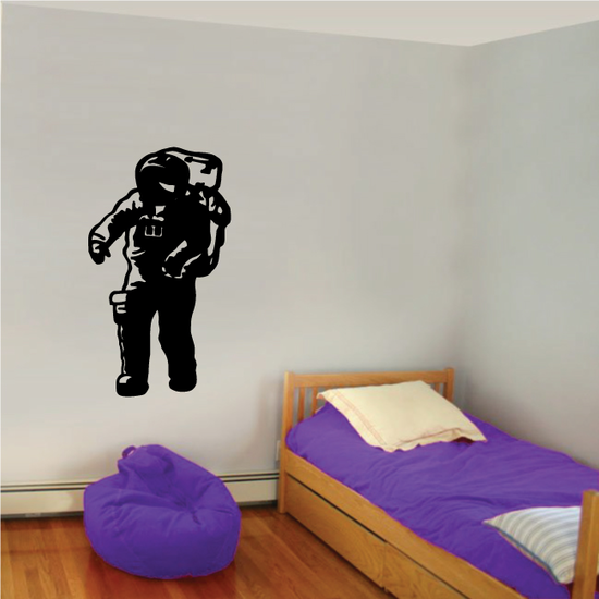 Astronaut in Space Suit Decal