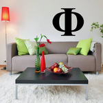 Phi Greek Letter Decal
