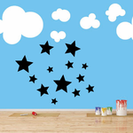 Group of Stars Decal