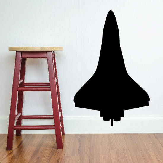 Space Shuttle at takeoff Decal